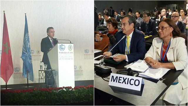 México participa en la COP22 sobre cambio climático