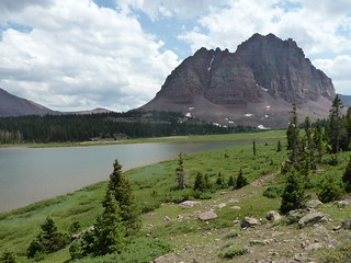 Red Castle Peak and Lower Red Castle Lake