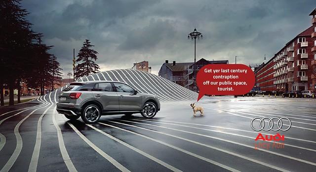 Audi Q2 in Copenhagen