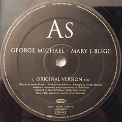 GEROGE MICHAEL・MARY J. BLIGE:AS(LABEL SIDE-A)