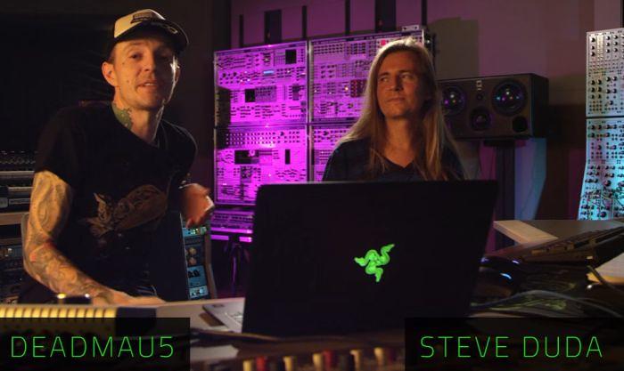 Deadmau5 és Steve Duda a mastering videóban