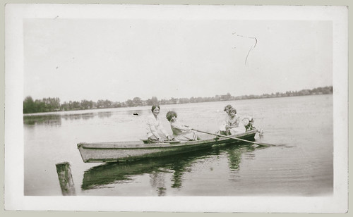 Four in a rowboat