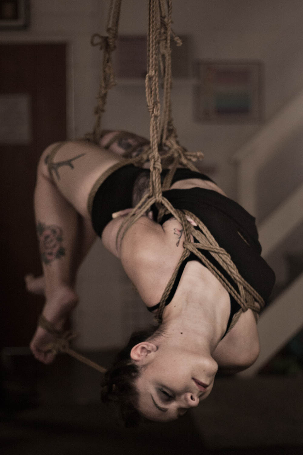 shibari and photography by Gestalta, model clementine