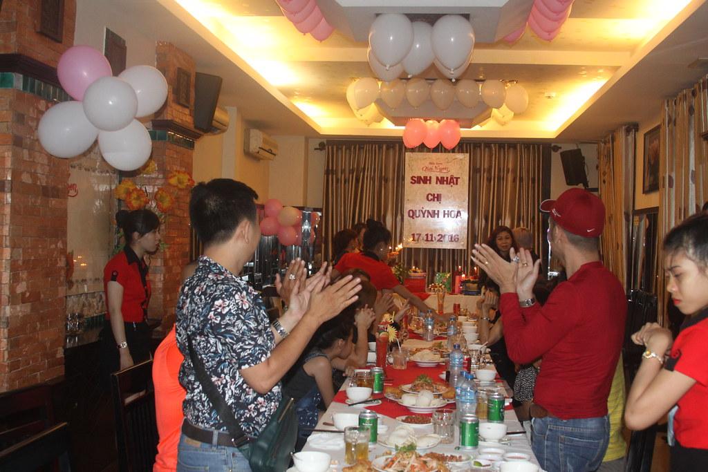 Tiệc sinh nhật Chị Quỳnh Hoa 17/11/2016