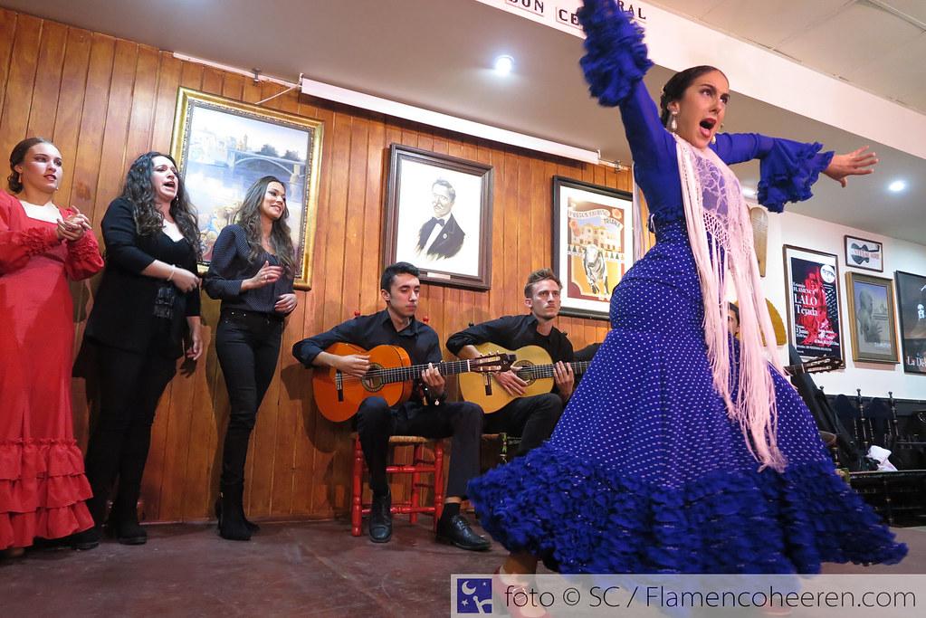 Fiesta Curso Flamenco 2016/2017. Peñas Cantes al Aire Sevilla