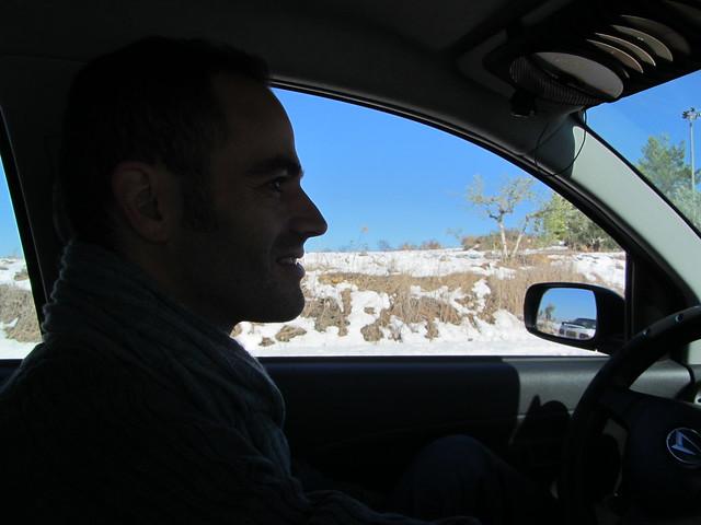 שלג בירושלים ויהודה ושומרון, דצמבר 2013