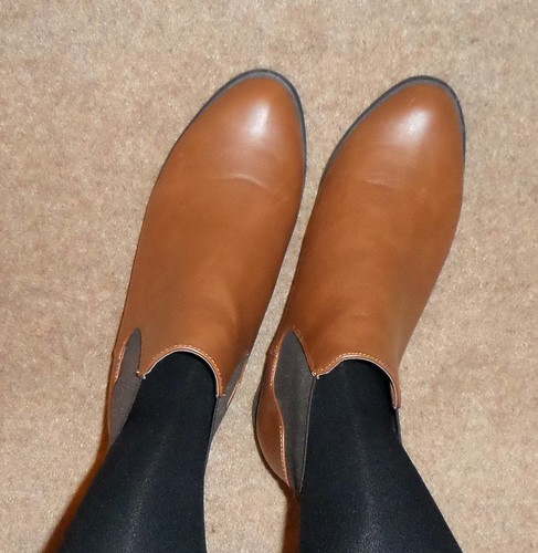 Primark tan ankle boots Chelsea boots