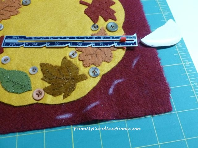 Autumn Jubilee Stitch Along Wool Applique ~ From My Carolina Home