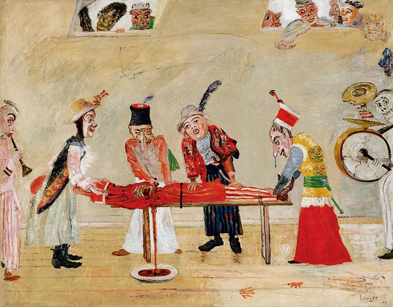 James Ensor - The Assassination, 1890