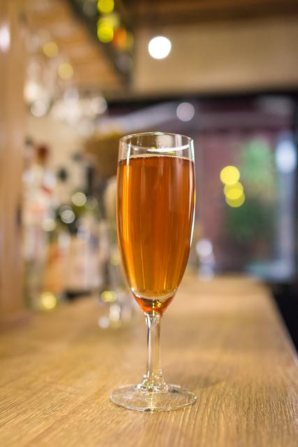 北千住「La ZAPPA」果汁とスパークリングワインのオリジナルカクテル