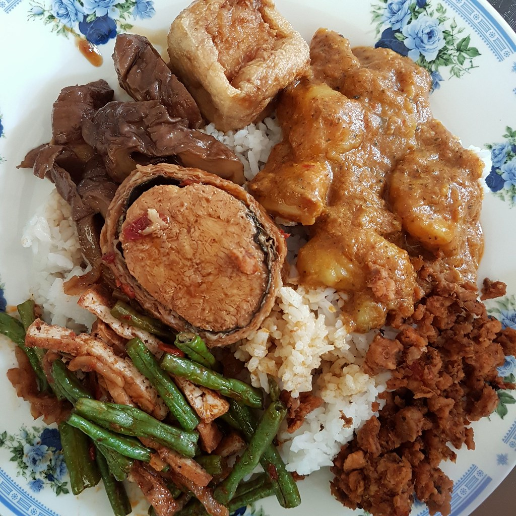 $8 @ Vegetarian Food at Kun Yam Thong, Jalan Ampang KL