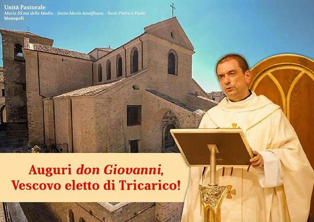 don giovanni intini vescovo tricarico