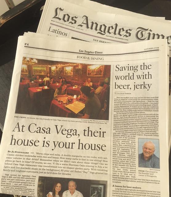 My Story About Casa Vega (L.A. Times)