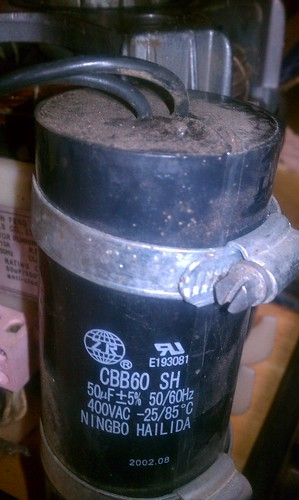 GS2000 motor capacitor