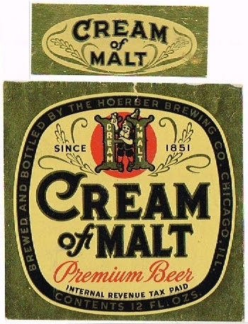 Cream-of-Malt-Premium-Beer-Labels-Hoerber-Brewing-Company