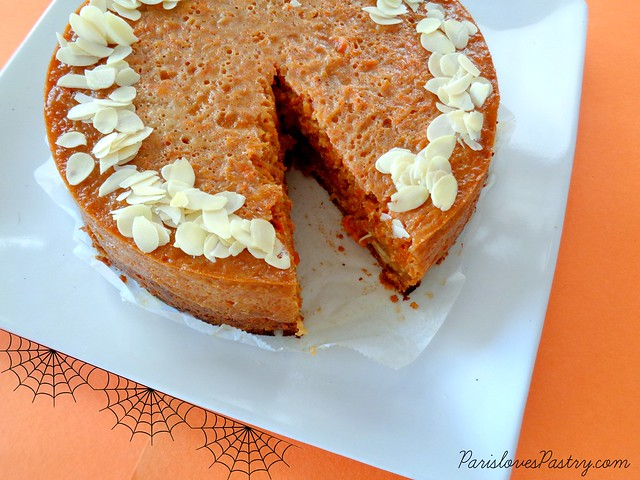 Pumpkin Spice Pie with Almond Crust