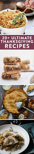 Great recipe ideas for Thanksgiving!