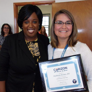Missouri RN named Corizon Health Nurse of the Year