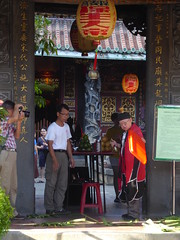 Daoist Baoan Temple priest - Taipei, Taiwan