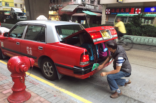 Hong Kong taxi situation