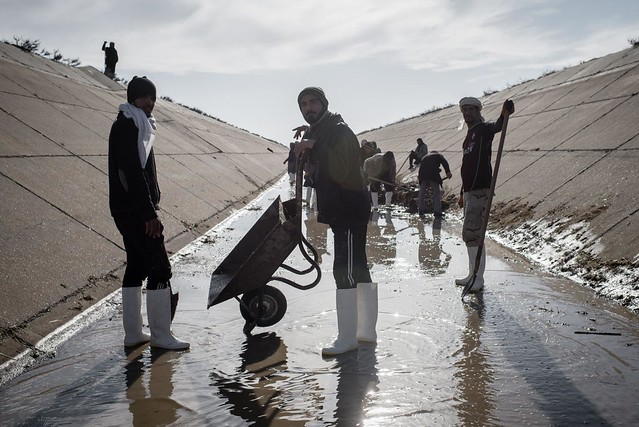 Restoring water supply in Iraq