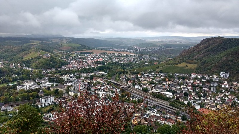 Blick auf Bad Münster am Stein-Ebernburg