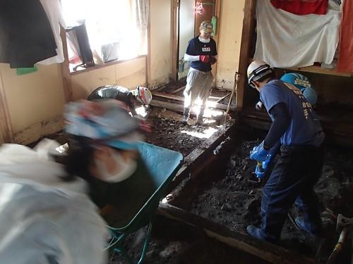 台風10号豪雨 岩手県岩泉町で災害ボランティア(援人 1014便)