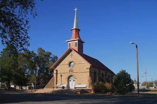 Our Lady of Sorrows Catholic Church, Willard, NM