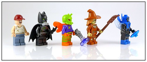 LEGO SuperHeroes DC Comics 76054 Batman Scarecrow Harvest of Fear figures02