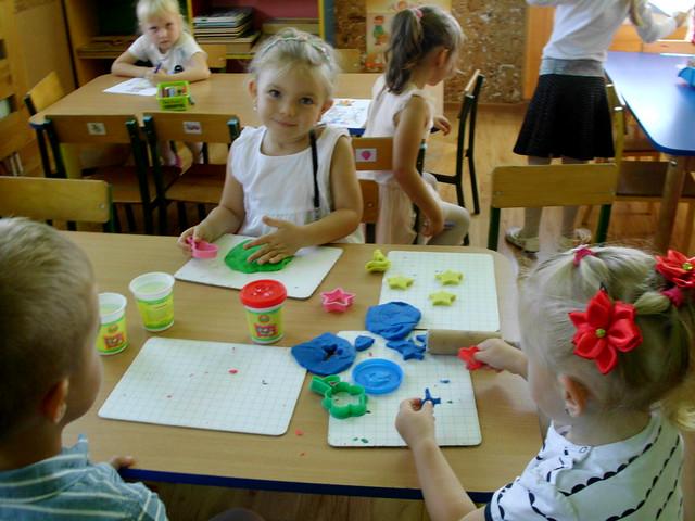 Pierwsze dni w przedszkolu