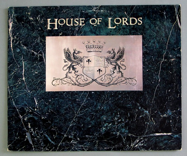 "HOUSE OF LORDS S/T SELF-TITLED 12"" LP VINYL"