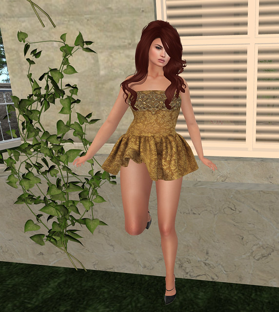 Belle Party dress, pastels , Sn@tch ( riot vendor)