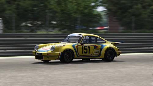 Porsche 911 RSR - Ecurie Robert Buchet - Bob Wollek - Imola 1974 (2)