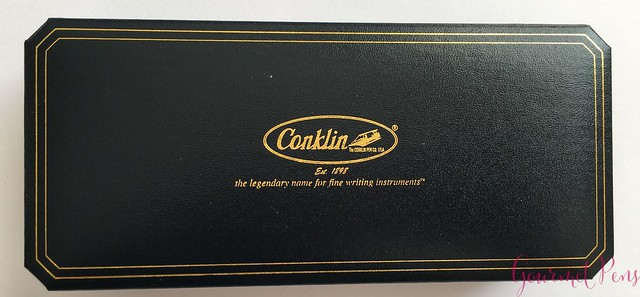 Review Conklin All American Sunburst Orange Fountain Pen 2