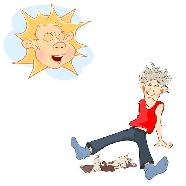 Sagan om solen och vinden