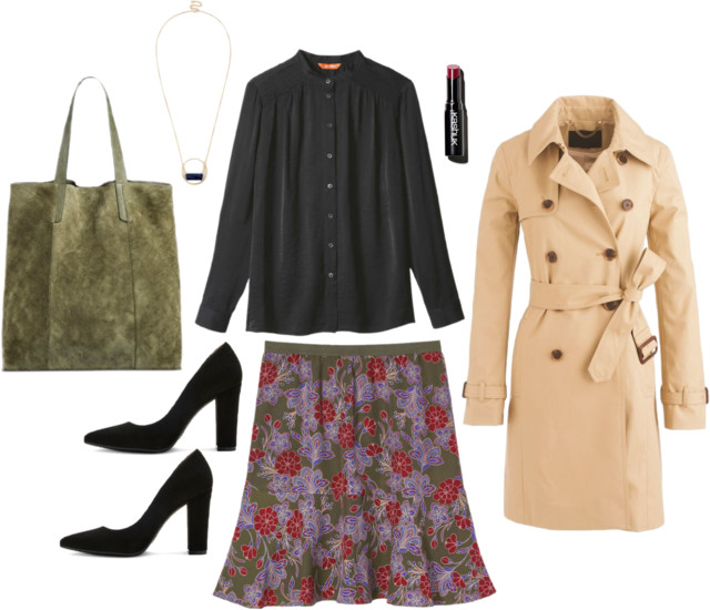 What I Wish I Wore, Vol. 157 - Trench Coat Trendy   Style On Target blog