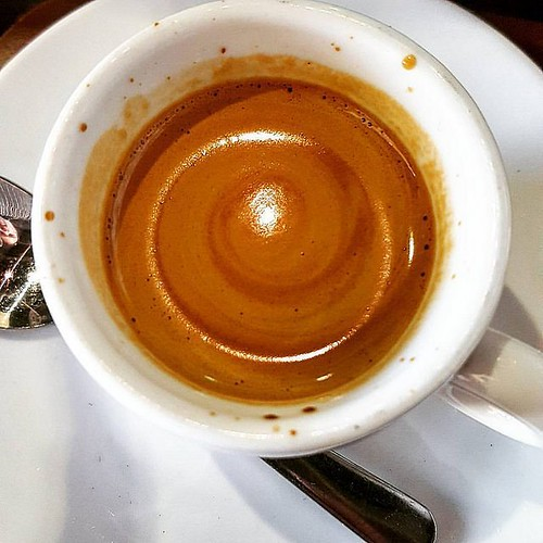 A galaxy of espresso.