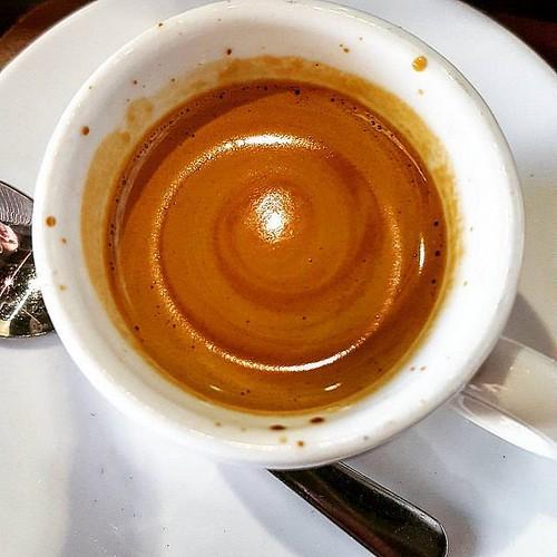 A galaxy of espresso.