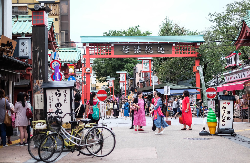 浅草,东京
