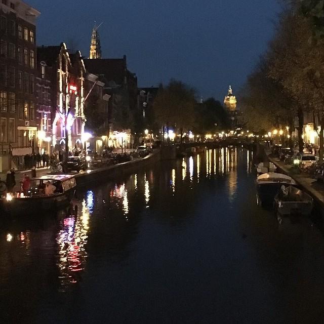 Nighttime sightseeing