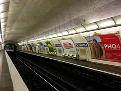 Paris Métro Saint-Fargeau 5