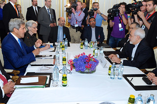 Secretary Kerry, Iranian Foreign Minister Zarif Sit Down For Second Day of Nuclear Talks in Vienna | by U.S. Department of State