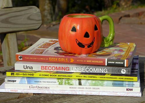 2016-10-28 - October Comic Books - 0001 [flickr]
