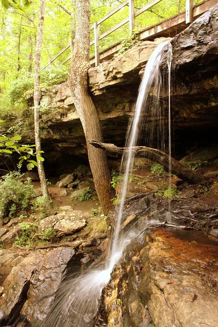 Indian Falls - DeSoto State Park