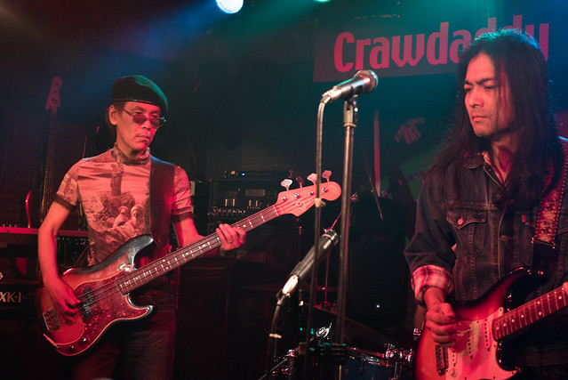 Rory Gallagher Tribute Festival - Takuro Tanaka in session at Crawdaddy Club, Tokyo, 22 Oct 2016 -00302
