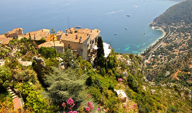View From the Garden of Eze