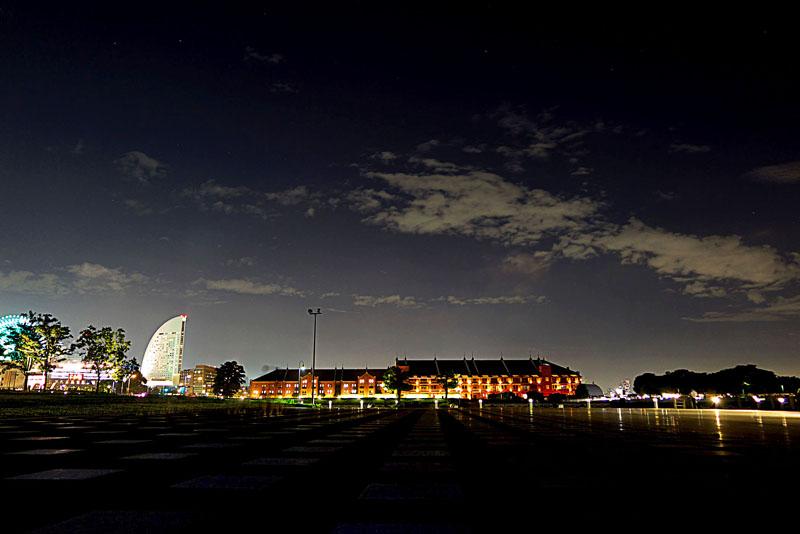 波止場の写真学校横浜校ビギナークラス夜景撮影会
