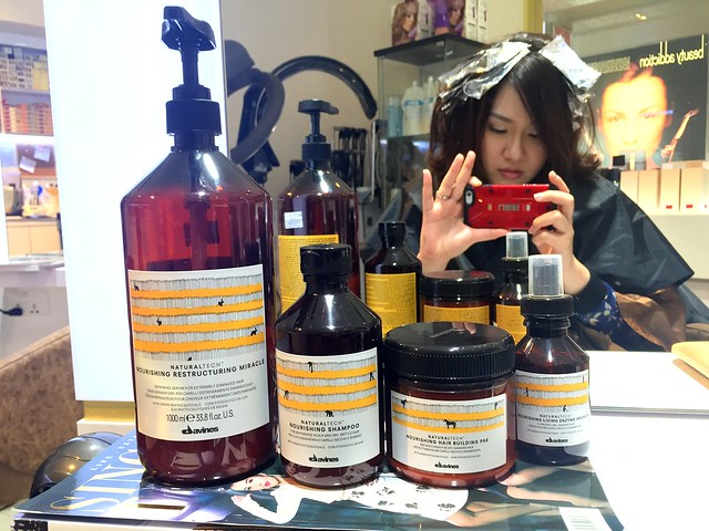 Kenjo Salon Davines Treatment
