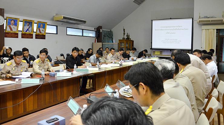 กรมอุทยานฯประชุมสรุปผลความคืบหน้าหลังการทำ MOU ร่วมกับมูลนิธิสิบฯ