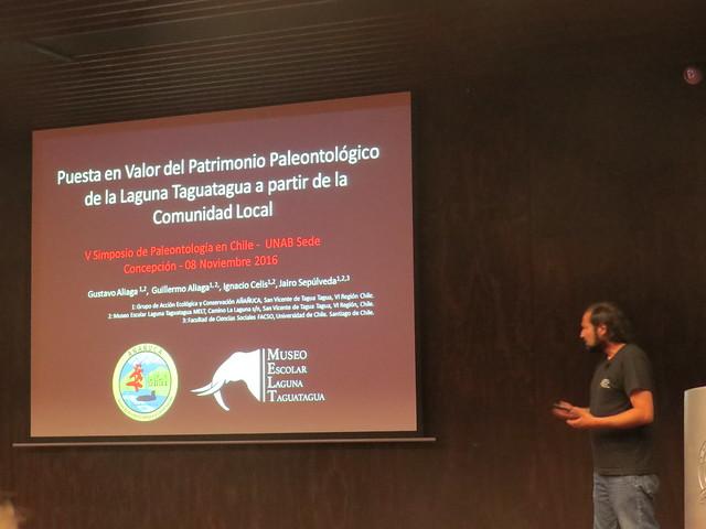 V Simposio de Paleontología en Chile